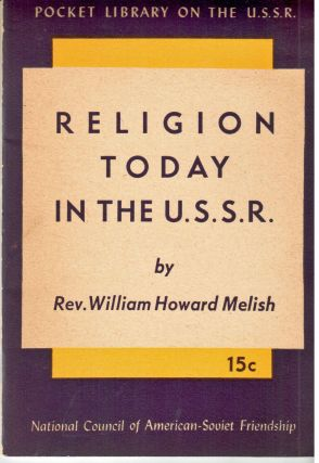 Religion today in the U.S.S.R