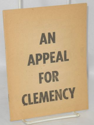 An appeal for clemency. Denis Nowell Pritt