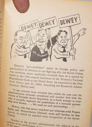 Is Dewey the man? With illustrations by William Gropper.