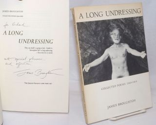 A Long Undressing: collected poems 1949-1969 [signed]. James Broughton