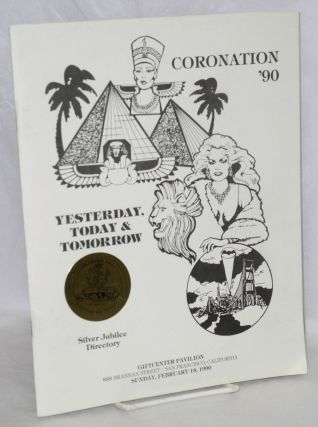 Coronation '90: yesterday, today & tomorrow Silver Jubilee Directory, Giftcenter Pavillion,...