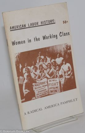 American labor history: women in the working class