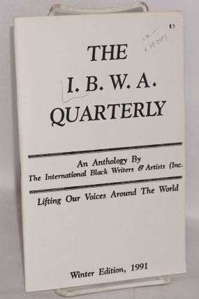 The I.B.W.A. quarterly; an anthology, winter edition, 1991