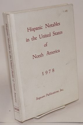 Hispanic notables in the United States of North America, 1978. José Andrés...