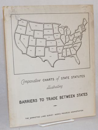 Comparative charts of state statutes illustrating Barriers to Trade between states. preparers...