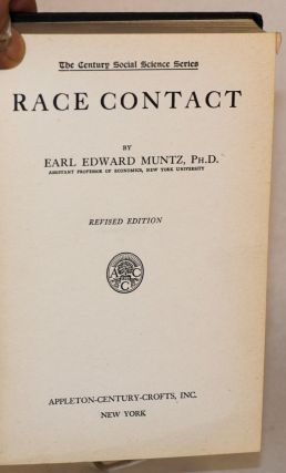 Race contact, revised edition