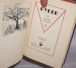 Ryder; with illustrations by the author