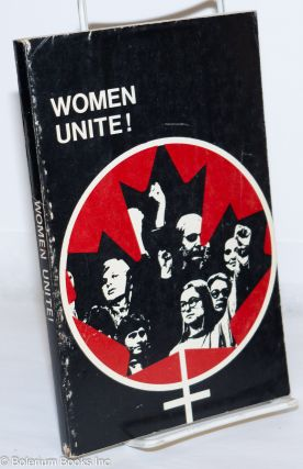 Up from the kitchen, up from the bedroom, up from under. Women unite! An anthology of the...