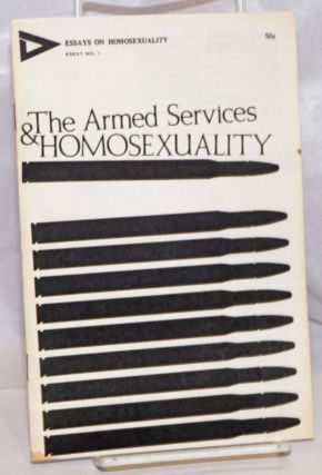 The Armed Services & Homosexuality