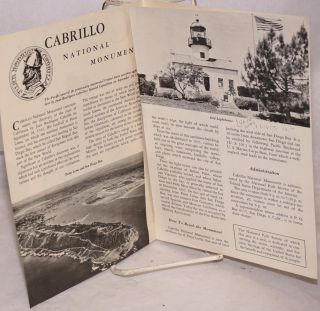 Cabrillo National Monument [brochure]