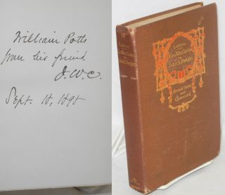 Early letters of George Wm. Curtis to John S. Dwight. Brook Farm and Concord. Edited by George...