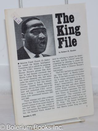 The King file. Robert H. Reeder