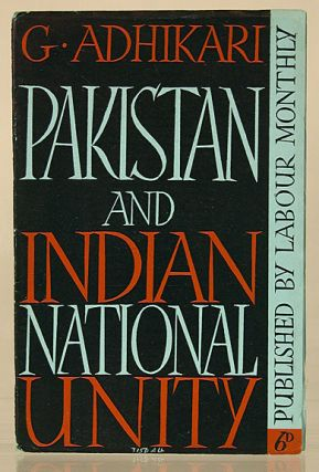 Pakistan and Indian national unity