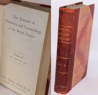 The journal of obstetrics and gynaecology of the British empire volume II July to December, 1902
