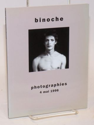 Binoche photographies 4 Mai 1996