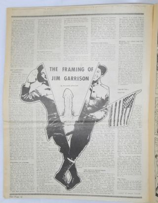 """The framing of Jim Garrison"" [in] LA Star an unauthorized newspaper vol. III nos. 51 & 52 [two issues]"