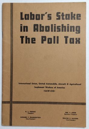 Labor's stake in abolishing the poll tax