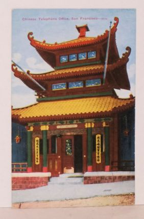 Chinese telephone office, San Francisco. Postcard