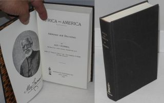 Africa and America; address and discourses. Alex Crummell