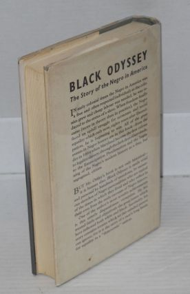 Black odyssey; the story of the Negro in America