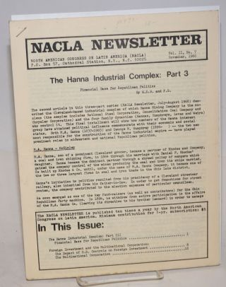 NACLA newsletter
