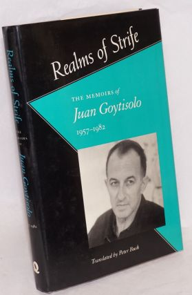 Forbidden territory [and] Realms of strife; the memoirs of Juan Goytisolo, translated by Peter Busch [pair, complete set]