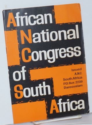 African National Congress of South Africa