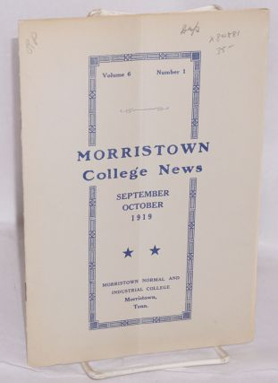 Morristown College news