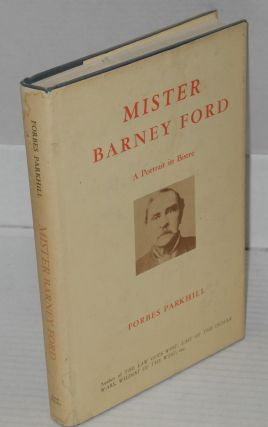 Mister Barney Ford; a portrait in bistre