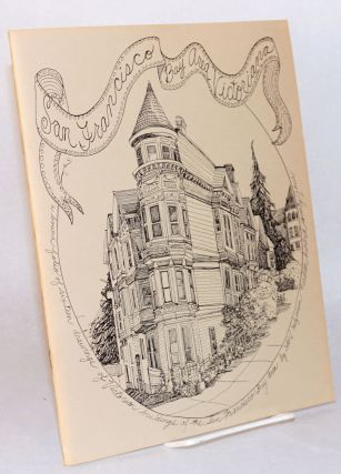 San Francisco Bay Area Victoriana: a bound folio of sixteen drawings of Victorian buildings of...