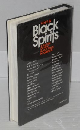 Black spirits: a festival of new black poets in America. Artistic consultant Imamu Amiri Baraka, foreword by Nikke Giovanni, introduction by Don L. Lee