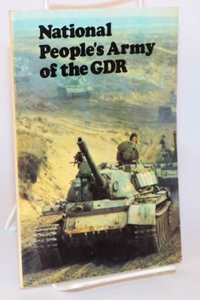 National People's army of the GDR [Redaktion 'DDR im Uberblick'