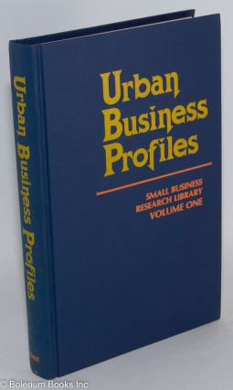 Urban business profiles; an examination of the opportunities offered by 18 of the most common...