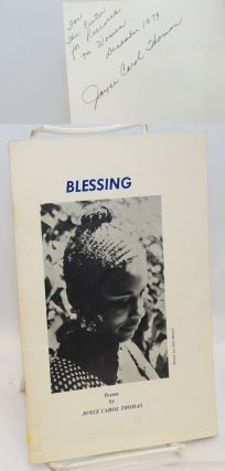 Blessing; poems. Joyce Carol Thomas