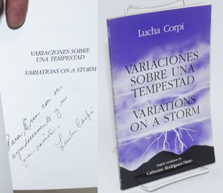 Variaciones sobre una tempestad/Variations on a storm. Lucha Corpi, English, Catherine...