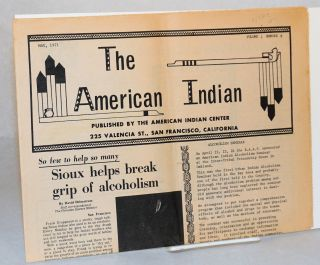 The American Indian: volume 1, number 8, May