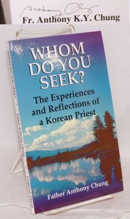 Whom do you seek? A Korean priest's deeply touching story about his conversion of a man on death...