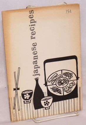Japanese recipes; 1961-1962 Japan food show