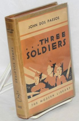 Three soldiers. Introduction by John Dos Passos. John Dos Passos