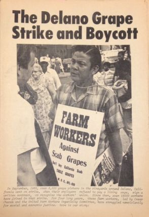 El Malcriado: The Delano grape strike and boycott vol. 3 #19, January 15, 1970; Special edition