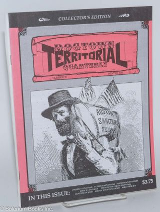 Dogtown territorial quarterly, number 20, Winter 1994. Bill Anderson, publishers Penny.