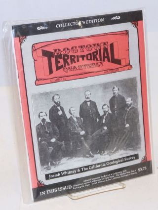 Dogtown territorial quarterly, number 24, Winter 1995. Bill Anderson, publishers Penny.