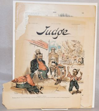 Judge; vol. 23 no. 567 August 27, 1892