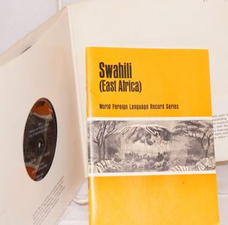 Swahili (East Africa): World Foreign Language Record Series